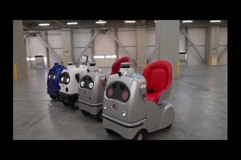 Embedded thumbnail for Presentan un curioso robot para personas con problemas de movilidad en Japón