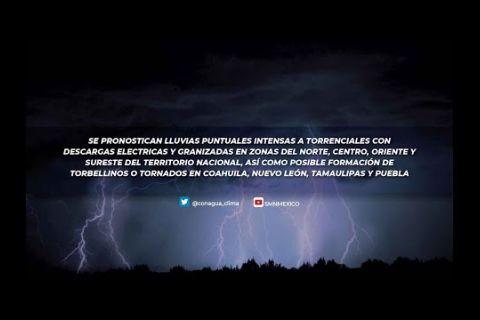Embedded thumbnail for Pronóstico del Tiempo 12 de mayo de 2021
