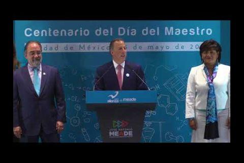 Embedded thumbnail for  Propone Meade maestros bilingües en escuelas mexicanas