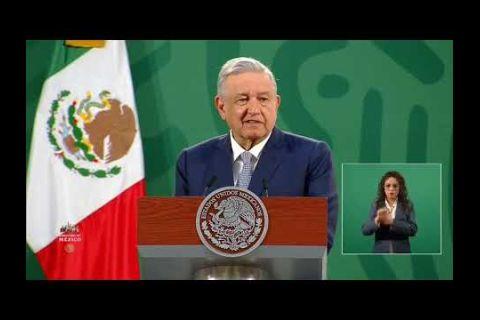 """Embedded thumbnail for López Obrador da bienvenida a Fernández y destaca """"cooperación"""" con Argentina"""