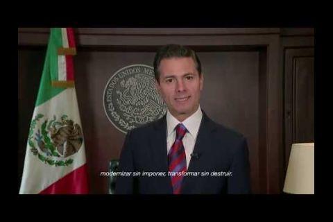 Embedded thumbnail for Mensaje del Presidente Enrique Peña Nieto