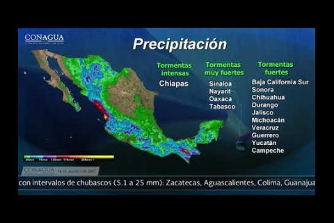 Embedded thumbnail for Pronóstico del Tiempo 14 de agosto de 2017