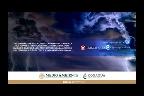 Embedded thumbnail for Pronóstico del Tiempo 14 de septiembre de 2021
