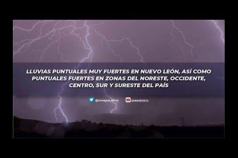 Embedded thumbnail for Pronóstico del Tiempo 10 de mayo de 2021