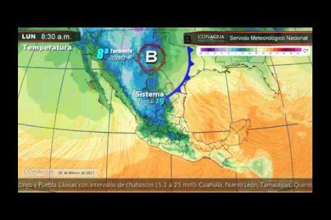 Embedded thumbnail for Pronóstico del Tiempo 20 de febrero de 2017