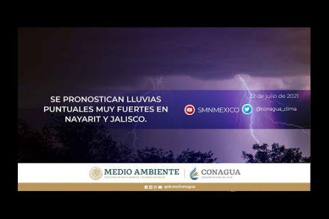 Embedded thumbnail for Pronóstico del Tiempo 22 de julio de 2021