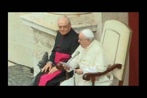 Embedded thumbnail for El papa retoma el contacto con los fieles en las audiencias tras seis meses