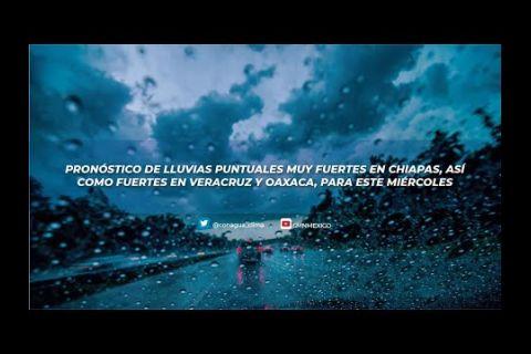 Embedded thumbnail for Pronóstico del Tiempo 26 de mayo de 2021