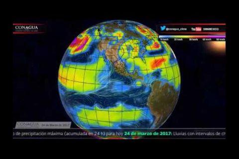 Embedded thumbnail for Pronóstico del Tiempo 24 de marzo de 2017