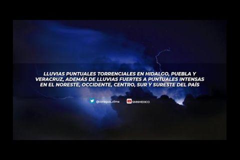 Embedded thumbnail for Pronóstico del Tiempo 13 de mayo de 2021