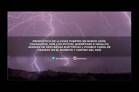 Embedded thumbnail for Pronóstico del Tiempo 26 de abril de 2021