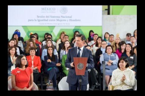 Embedded thumbnail for Sesión del Sistema Nacional para la Igualdad entre Mujeres y Hombres