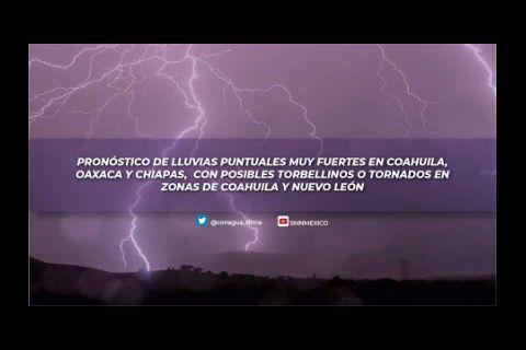 Embedded thumbnail for Pronóstico del Tiempo 28 de mayo de 2021