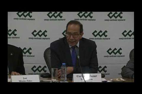 """Embedded thumbnail for Sector privado señala baja """"estrepitosa"""" de inversión en presupuesto mexicano"""