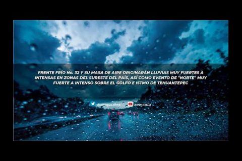 Embedded thumbnail for Pronóstico del Tiempo 28 de enero de 2021