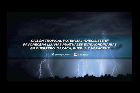 Embedded thumbnail for Pronóstico del Tiempo 16 de octubre de 2019