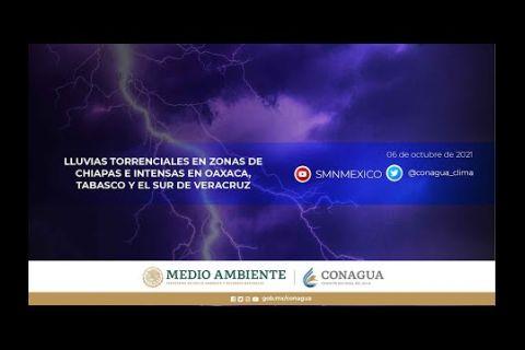 Embedded thumbnail for Pronóstico del Tiempo 6 de octubre de 2021