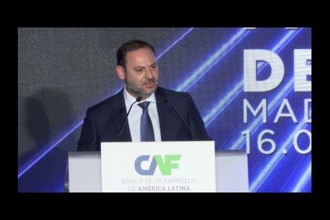 Embedded thumbnail for Conferencia CAF Infraestructura para la Integración de América