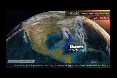 Embedded thumbnail for Pronóstico del Tiempo 22 de febrero de 2017