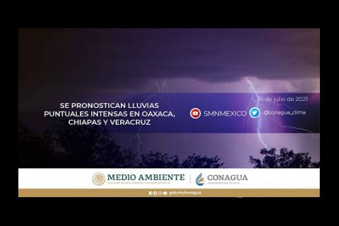 Embedded thumbnail for Pronóstico del Tiempo 14 de julio de 2021