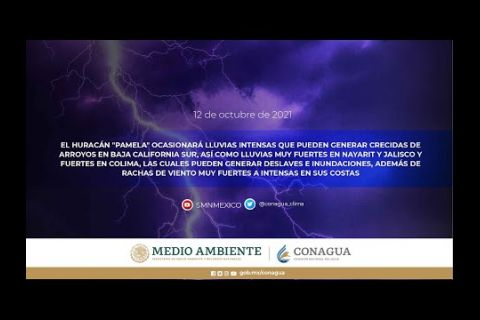Embedded thumbnail for Pronóstico del Tiempo 12 de octubre de 2021