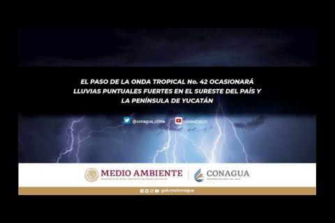 Embedded thumbnail for Pronóstico del Tiempo 21 de octubre de 2020