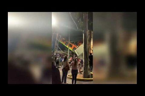 Embedded thumbnail for Viral: Estructura del Metro de CDMX colapsa en estación