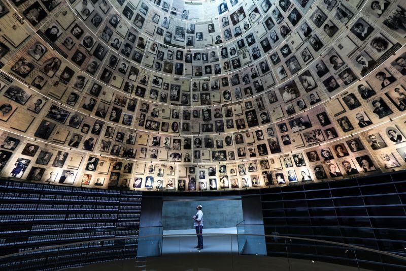 Sala de los Nombres del Museo del Holocausto Yad Vashem - 2021