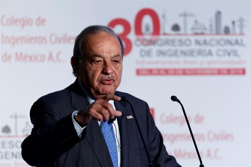 El multimillonario mexicano Carlos Slim.