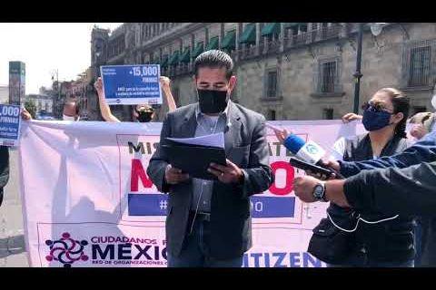 "Embedded thumbnail for ONG exigen a López Obrador frenar la ""farsa"" de la consulta popular"