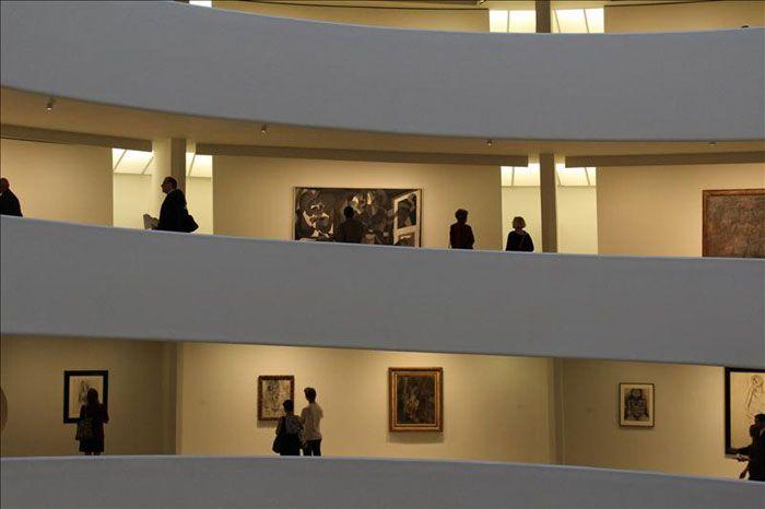 El Guggenheim Retrata A Picasso A Partir De Su Obra En Blanco Y