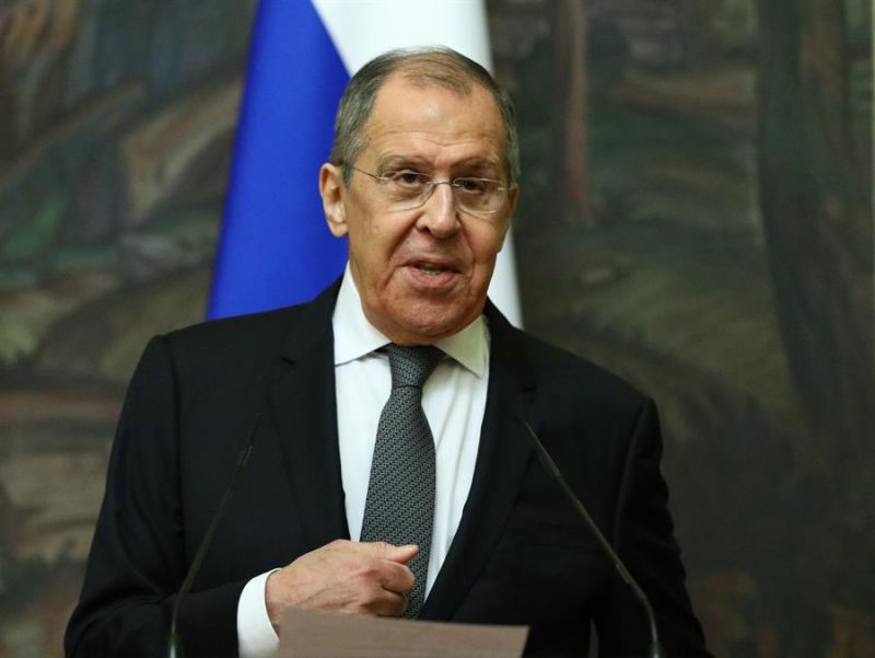 El ministro de Asuntos Exteriores de Rusia, Sergei Lavrov.