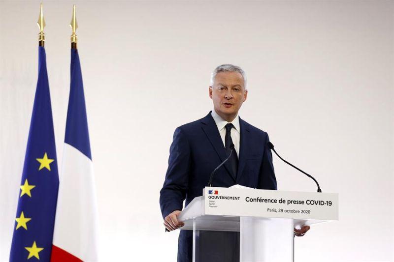 El ministro francés de Finanzas, Bruno Le Maire.