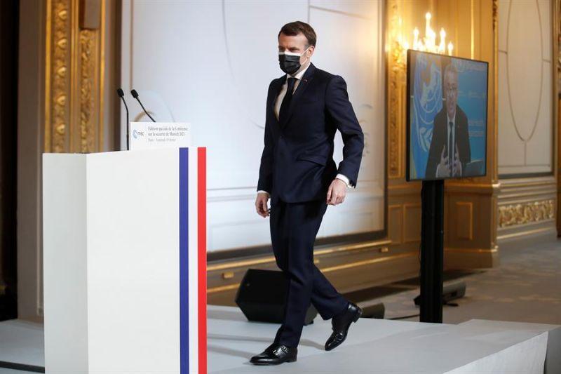 Presidente francés, Emmanuel Macron.
