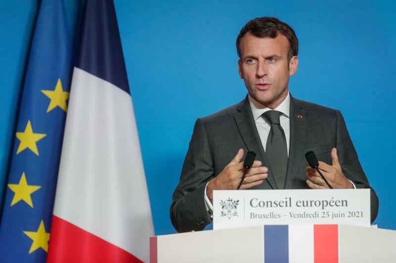 El presidente de Francia, Emmanuel Macron - 250621