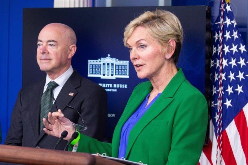 En la imagen la secretaria de Energía de Estados Unidos, Jennifer Granholm.