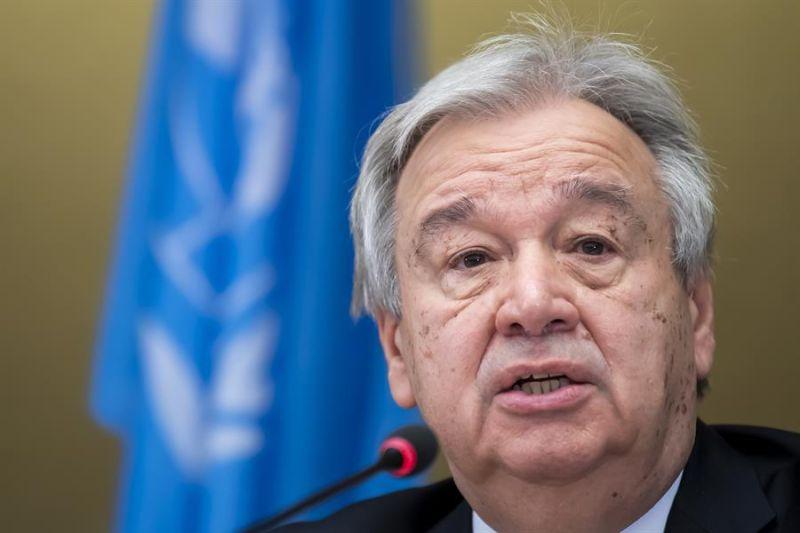 El secretario general de la organización, António Guterres.