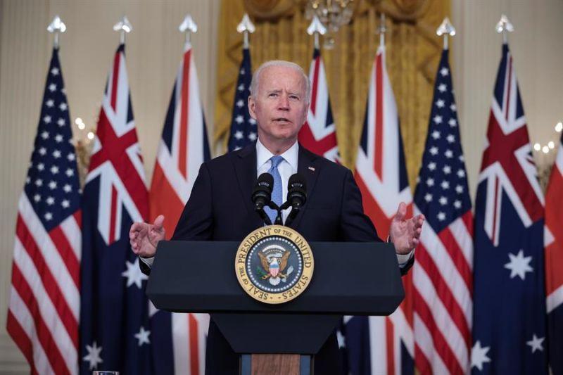 El presidente de EE.UU., Joe Biden + 01 - 160921