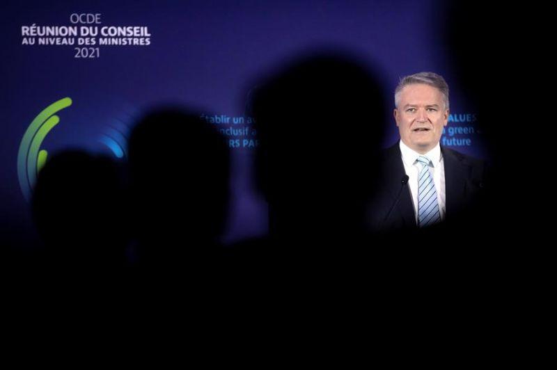 El secretario general de la OCDE, Mathias Cormann, en una imagen de archivo.  01 081021