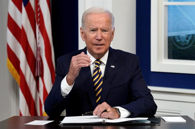 El presidente de EE.UU., Joe Biden, participa en el Foro de Grandes Economías sobre Energía y Clima, organizado por la Casa Blanca, este 17 de septiembre de 2021.