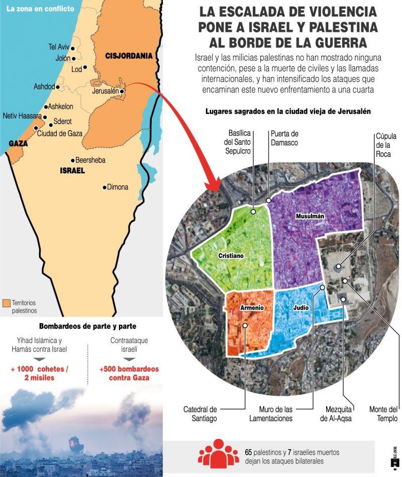 Israel y Palestina - Guerra - 120521