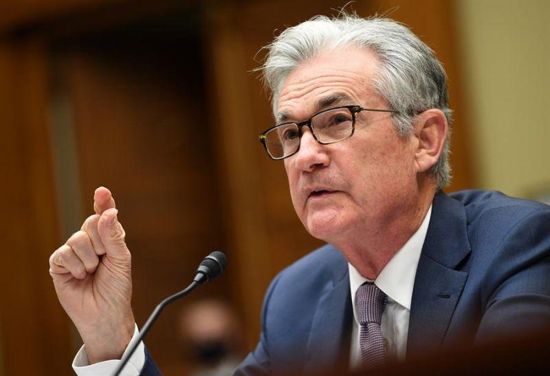 En la imagen, el presidente de la Reserva Federal (Fed) de EE.UU., Jerome Powell.