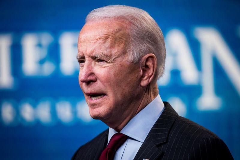 En la imagen, Joe Biden, presidente de los Estados Unidos.
