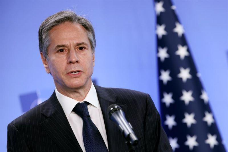 En la imagen, el secretario de Estado estadounidense, Antony Blinken.