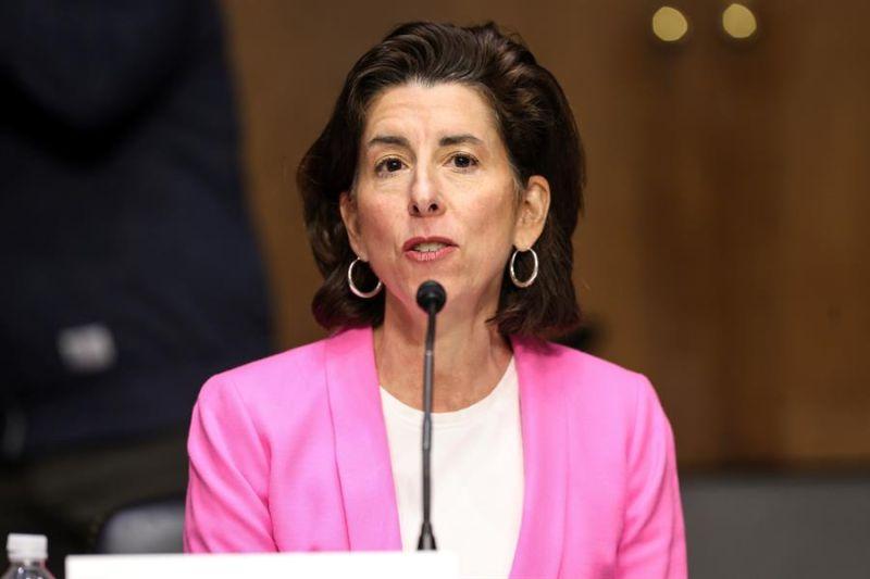 La secretaria de Comercio de EE.UU., Gina Raimondo.