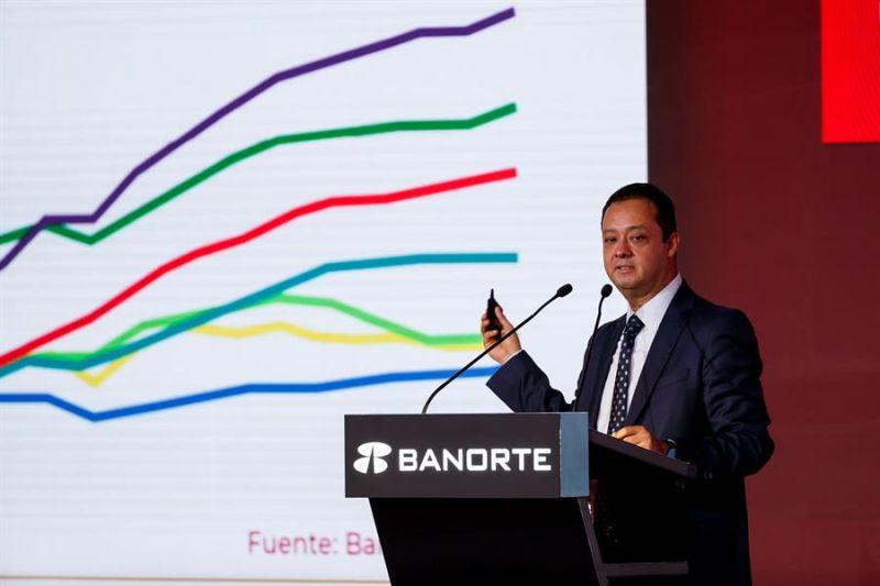El subsecretario de Hacienda de México, Gabriel Yorio González, interviene en el Foro Estrategia Banorte 2019 que se celebra en Ciudad de México (México).