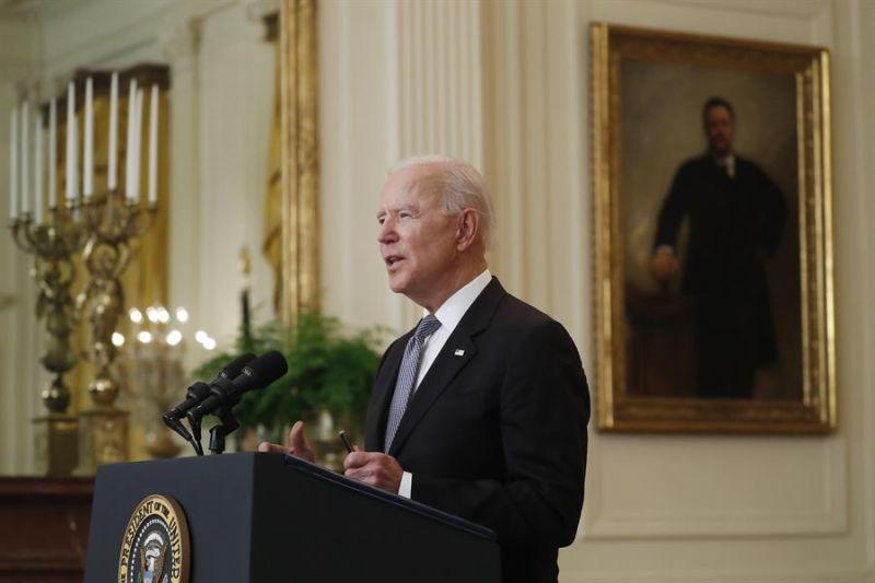 En la imagen, Joe Biden, presidente de EE.UU., el 17 de mayo de 2021.