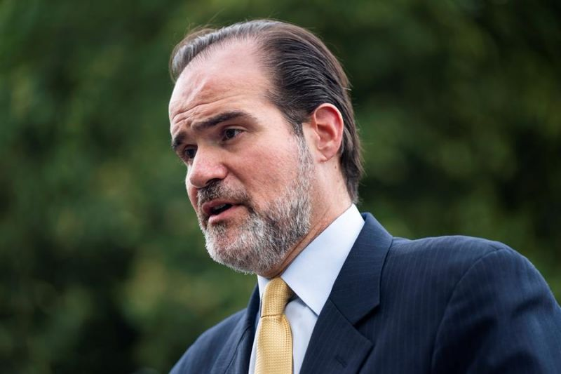En la imagen un registro del presidente del Banco Interamericano de Desarrollo (BID), Mauricio Claver-Carone.