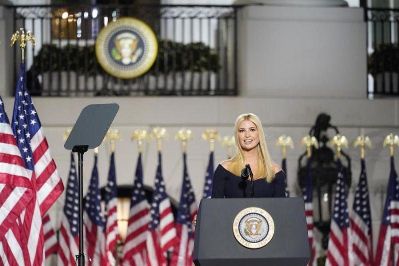 En la imagen, Ivanka Trump, la hija mayor del expresidente Donald Trump.