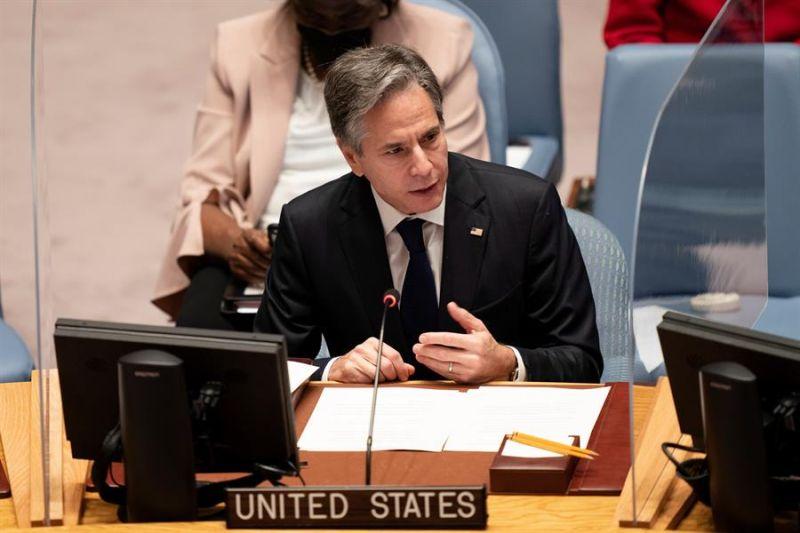 El secretario de Estado estadounidense, Antony Blinken 01 270921